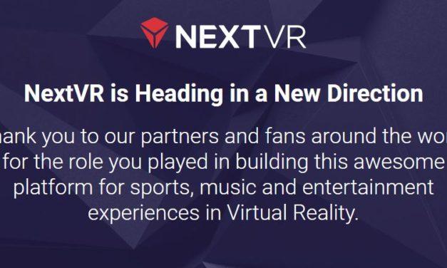 Réalité virtuelle : Apple rachète NextVR