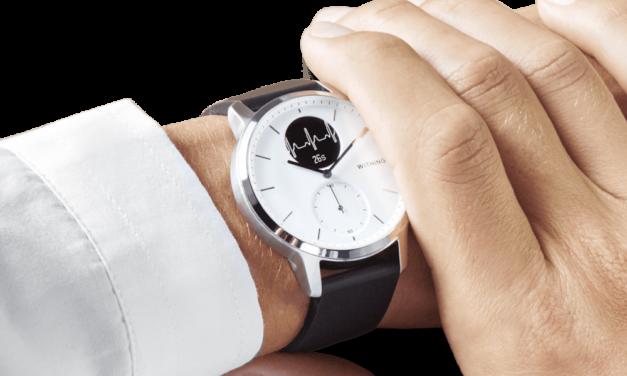 LaScanwatch de Withings intègre de nouvelles fonctions pour la santé