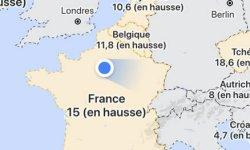 Une couche Covid19 dans Google Maps