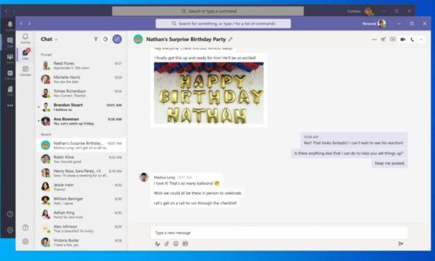 Microsoft enrichit la version grand public de Teams et la porte sur desktop