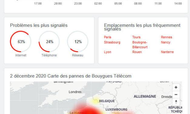 Panne 4G chez Bouygues, plusieurs régions concernées