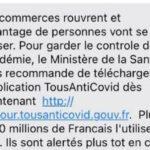 Tous-Anti-Covid : un phishing reprend le SMS du gouvernement