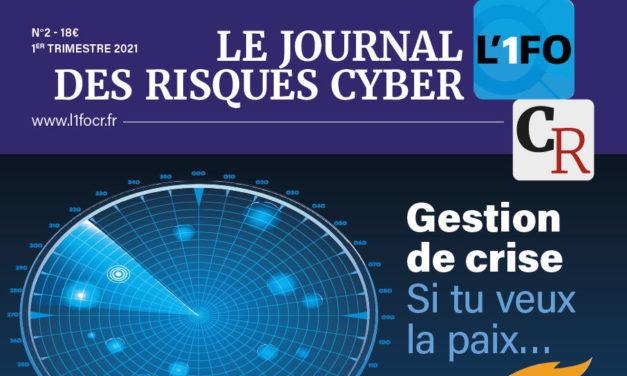 L'1FO-CR journal des risques cyber n°2 est paru