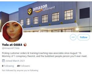 Twitter Amazon