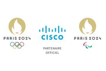Cisco partenaire réseau, cybersécurité et visioconférence de Paris 2024