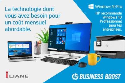 HP Business Boost : les meilleurs équipements et services HP pour le télétravail